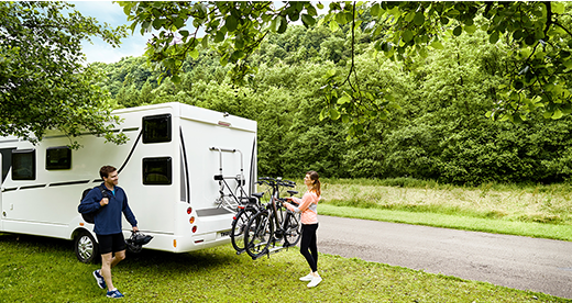 Thule Motorhome Bike Racks available from The Roofrack Company and Boxes