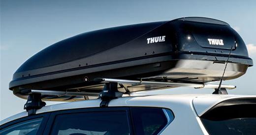 The Thule Ocean 200 roof box