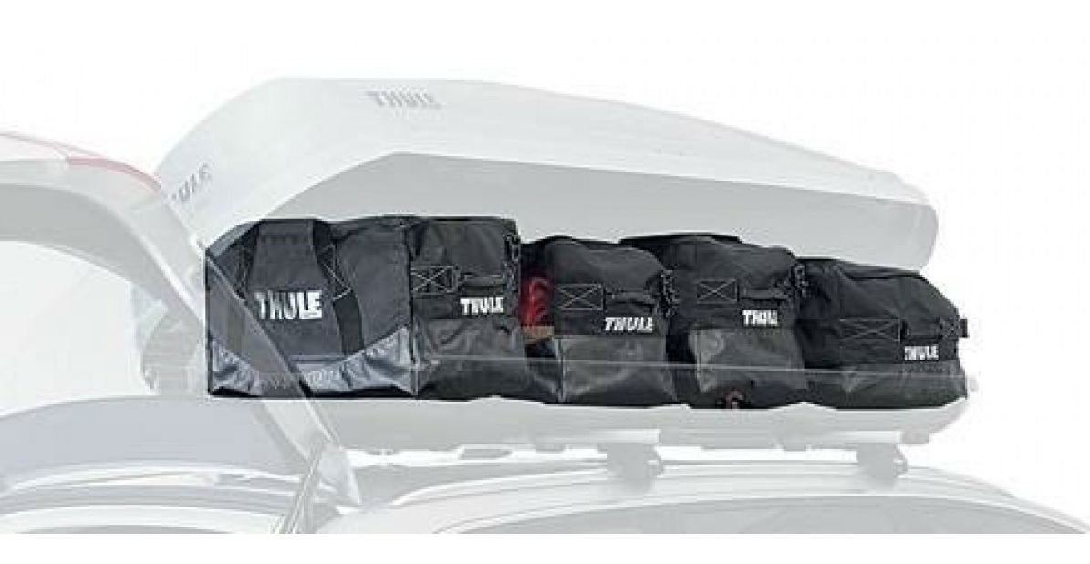 Thule Go Pack roof box bag set